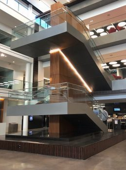 Atlanta-Mercedes-Benz-HQ-metalwork-stairs